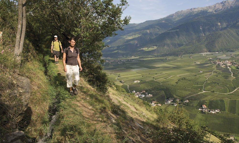 Im Paradies für Wanderfreunde