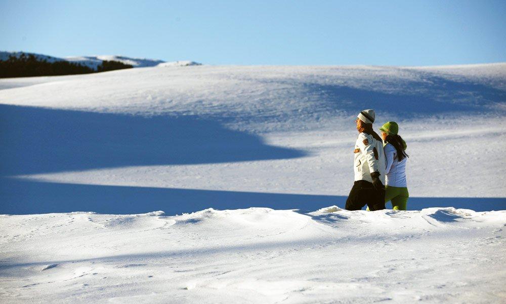 Winterurlaub in Schenna: Zum Winterwandern und Skiurlaub bei Meran